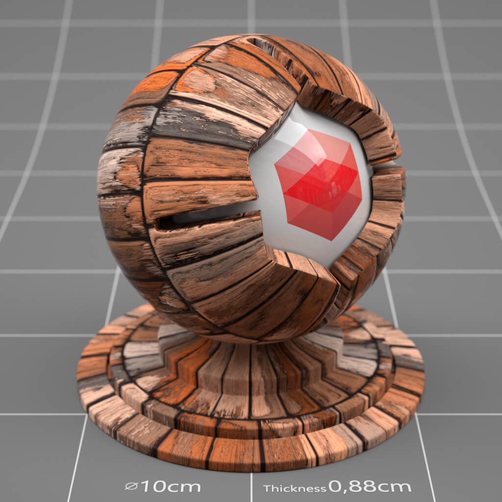 Redshift / Cinema 4D Pack : Material Pack 03 from helloluxx by The Pixel Lab