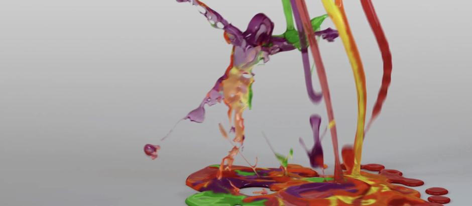fluid simulations X-Particles