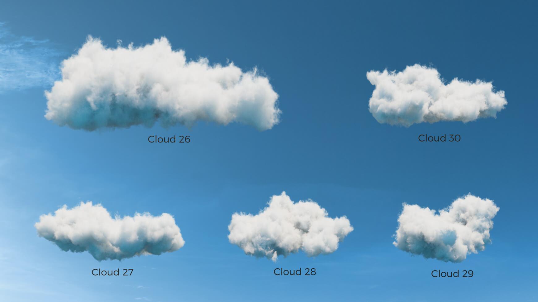 VDB Clouds Pack
