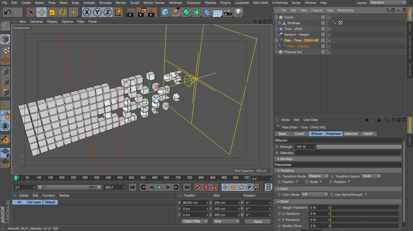 Trigger Animation With Effector
