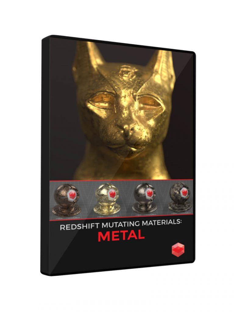Redshift Mutating Materials Metal